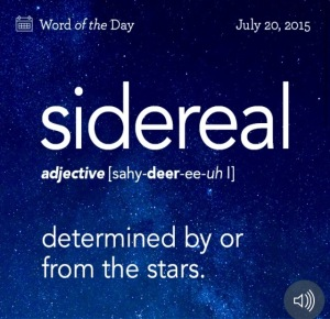 Sidereal Catalyst