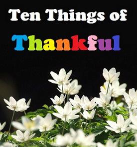Ten Thankfuls